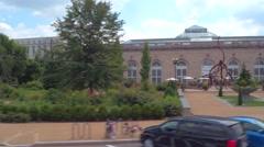 Washington DC Botanical Garden Stock Footage