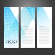 Modern design advertising banner Piirros
