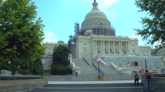 The United States Capitol Building Stock Footage