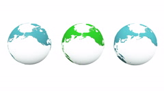 4k rotate global,earth map,environmental protection. Stock Footage
