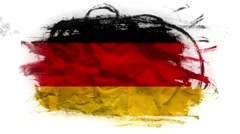 Flag of Germany, loopable animation - stock footage
