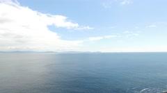 View to ocean at wild atlantic way in ireland 76 Stock Footage