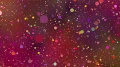 Flickering Particles Background Loop 4K Stock Footage