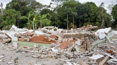 House Destruction Kuvituskuvat