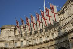 London, United Kingdom - November 20, 2011: Admiralty Arch - stock photo