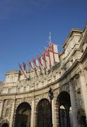 London, United Kingdom - November 20, 2011: Admiralty Arch Stock Photos