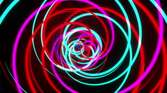 Rotating Ribbons Stock Footage