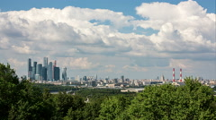 Urban Landscape Of Moscow. Stock Footage