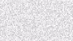 Running encrypted data Stock Footage