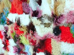 Collored Wool Stock Photos