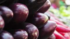 Showcase Vegetables Stock Footage