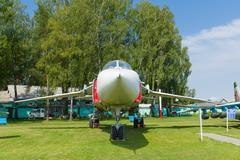 Aviation museum in Belarus Stock Photos