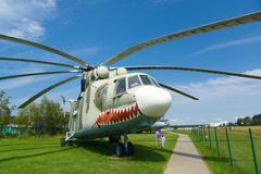 aviation museum in Belarus - stock photo