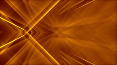Gold abstract background, light and lines, loop Stock Footage