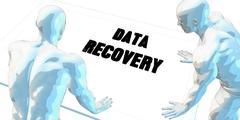 Data Recovery Stock Illustration