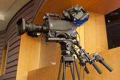 Professional digital video camera. Kuvituskuvat
