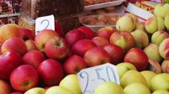 Showcase Fruits Stock Footage