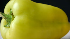 Green Pepper Stock Footage