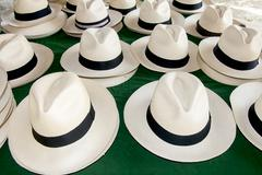 Accessory - Panama Hats - stock photo