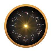 12 Horoscopes cycle for rotate Stock Illustration