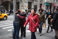New York City street scene Kuvituskuvat