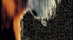 Streaming Data Abstraction Stock Illustration