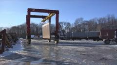 PrecastTransport Stock Footage