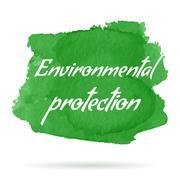 Vector environmental eco label Stock Illustration