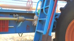 agricultural machinery and equipment. - stock footage