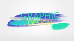 Graphic Design Stock Footage
