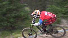 Mountain Bike Race Stock Footage