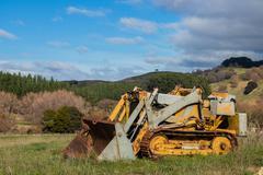 Farm Bulldozer Stock Photos