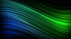 Elegant Curves and Lines Seamless Motion Backgorund 4K Ultra HD Blue Green Stock Footage