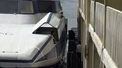 4K The Shekou Ferry Terminal in Shenzhen, China. It's a popular route -Dan Stock Footage