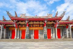 Hsing Tian Kong or Xingtian Temple in Taipei, Taiwan Stock Photos