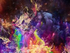 Realms of Space Nebula Stock Illustration