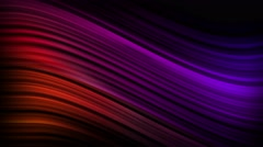 Elegant Curves and Lines Seamless Motion Backgorund 4K Ultra HD Purple Red Stock Footage