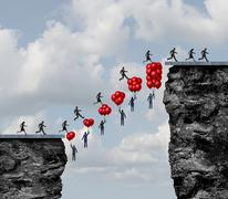 Business Teamwork Success Stock Illustration