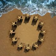 European Union Crisis Stock Illustration