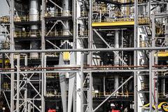 Oil petrolium manufacturing industrial plant Kuvituskuvat