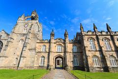 Aberdeen University King's College building. Stock Photos