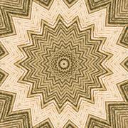 Abstract image with kaleidoscope pattern Stock Illustration