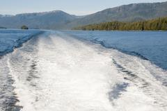 Cruising in Misty Fiords National Monument Stock Photos