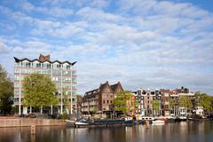 City of Amsterdam Stock Photos