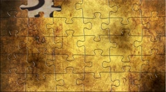 Grunge puzzles over tax Stock Footage
