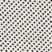 Vector Seamless Diagonal Rhombus Grid Pattern - stock illustration