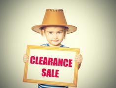 Text  clearance sale. Kuvituskuvat