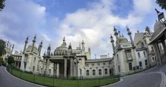 Brighton Royal pavilion Stock Footage