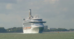 Ocean liner cruise ship Arkistovideo