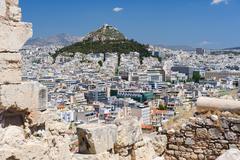 Cityscape of Athens, Greece - stock photo